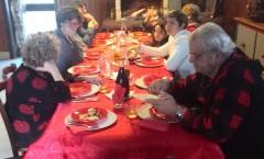 Natale 2014, pranzo in famiglia all'Agriturismo Rigotorto