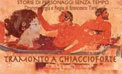 12 agosto, Il tramonto a Ghiaccioforte parla delle Donne Etrusche. Spettacolo e cena storica